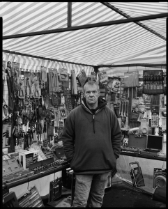 Portrait of a market stall holder