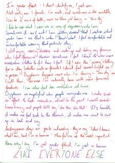 Helen's Letter